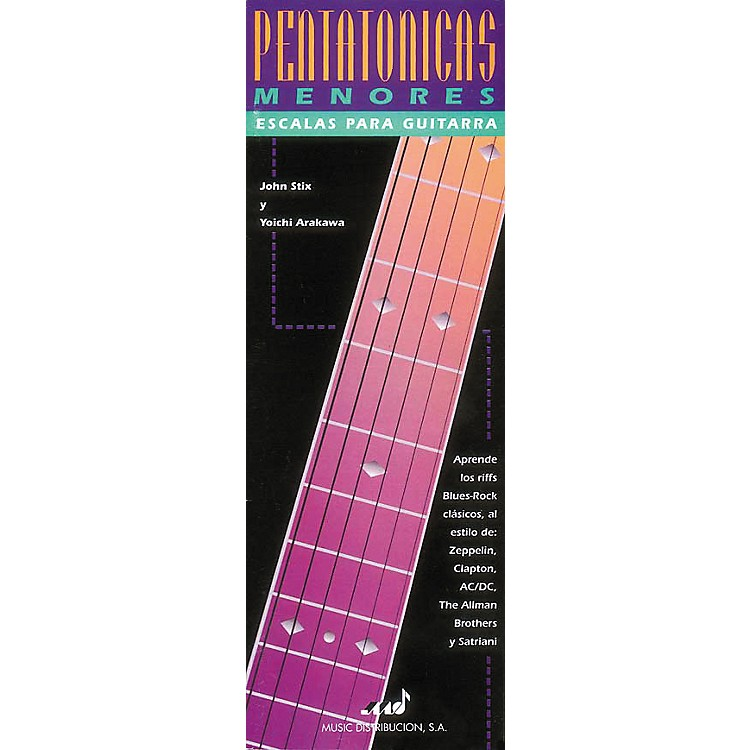 Hal LeonardPentatonicas Menores Escalas Para Guitarra Book