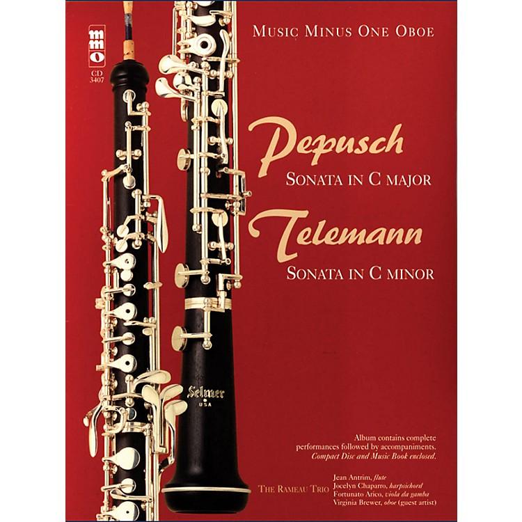 Music Minus OnePepusch - Sonata in C Maj; Telemann - Sonata in C Min Music Minus One BK/CD by Johann Christoph Pepusch