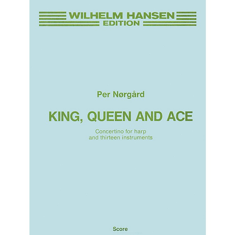 Music SalesPer Norgard: King, Queen And Ace (Full Score) Music Sales America Series