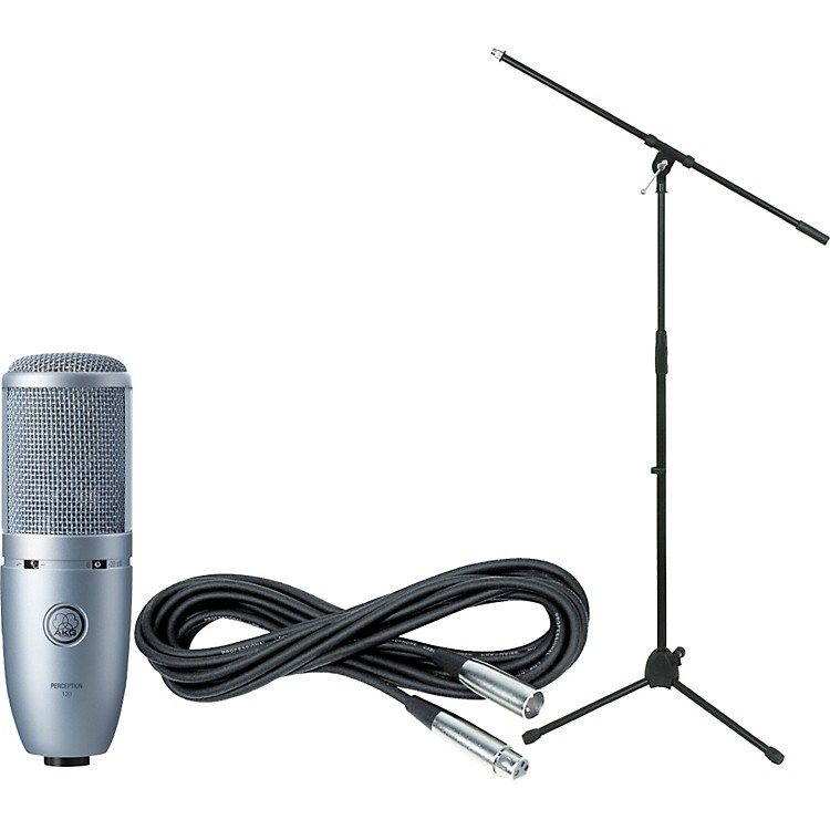 AKG Perception 120 Condenser Mic with Cable and Stand