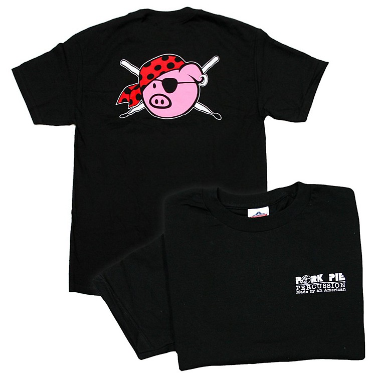 Pork Pie Percussion T-Shirt XX Large Black