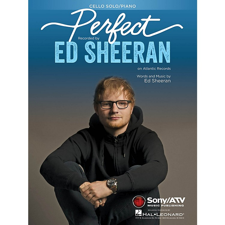 Hal Leonard Perfect for Cello Solo and Cello and Piano Instrumental Solo by Ed Sheeran