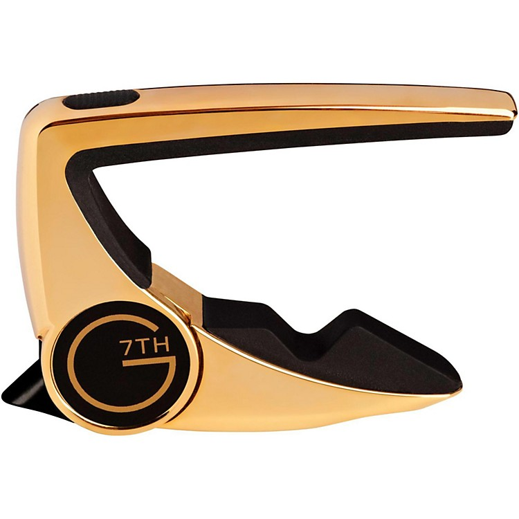G7th Performance 2 Guitar Capo Gold