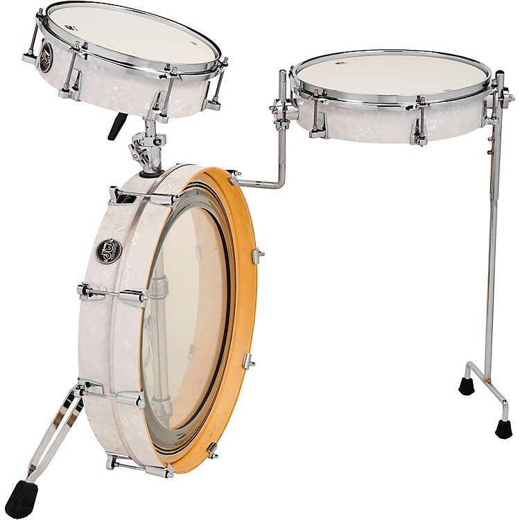 DW Performance Series 3-Piece Low Pro Travel Shell Pack White Marine Pearl