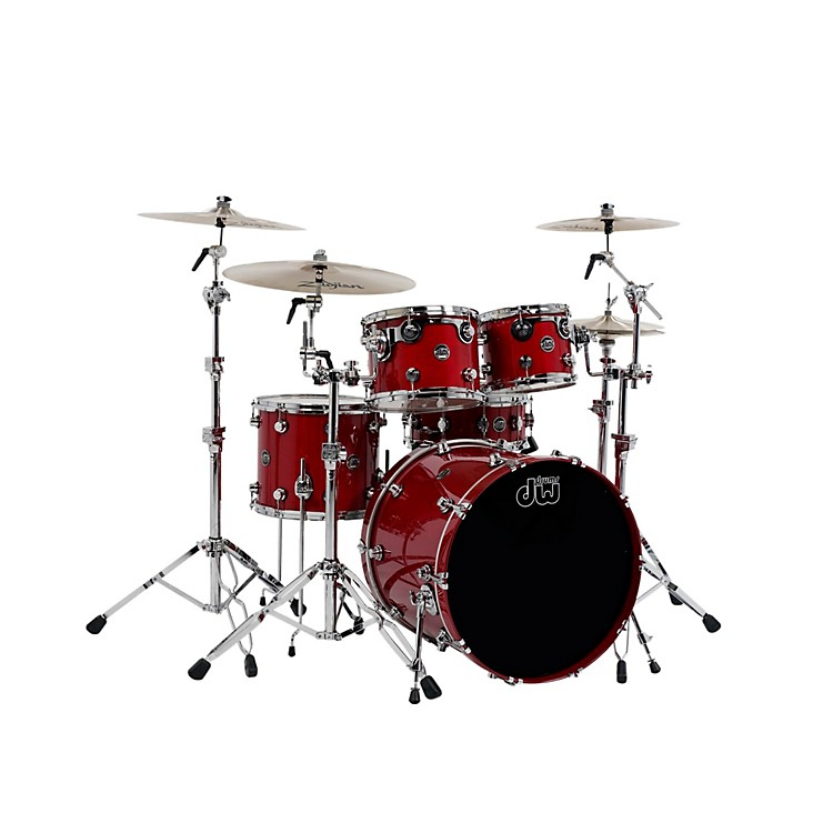 DW Performance Series 5-Piece Shell Pack Candy Apple Lacquer