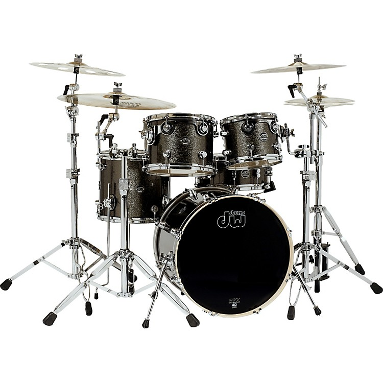DWPerformance Series 5-Piece Shell PackPewter Sparkle with Chrome Hardware