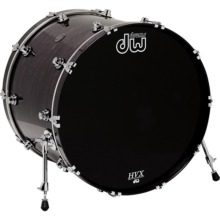 DWPerformance Series Bass Drum24 x 18 in.Ebony Stain Lacquer