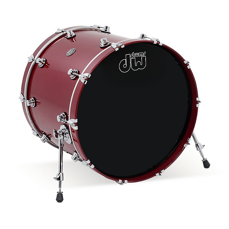 DWPerformance Series Bass Drum20 x 16 in.Ebony Stain Lacquer