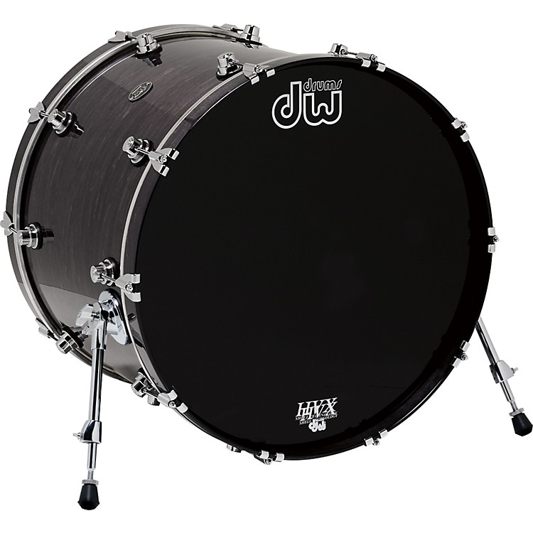 DWPerformance Series Bass Drum22 x 18 in.Ebony Stain Lacquer