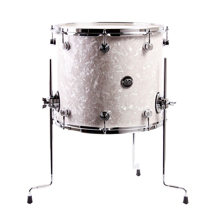 DW Performance Series Floor Tom White Marine 16 x 14 in.