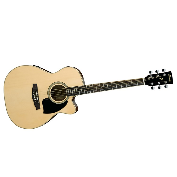 IbanezPerformance Series PC15 Cutaway Grand Concert Acoustic Electric Guitar with Case