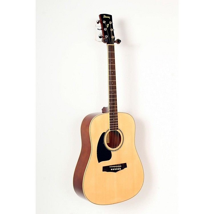 Ibanez Performance Series PF15 Left Handed Dreadnought Acoustic Guitar Natural 888365827964