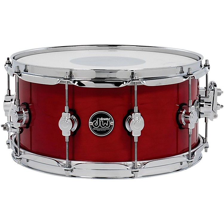 DWPerformance Series Snare Drum14 x 6.5 in.Candy Apple Lacquer
