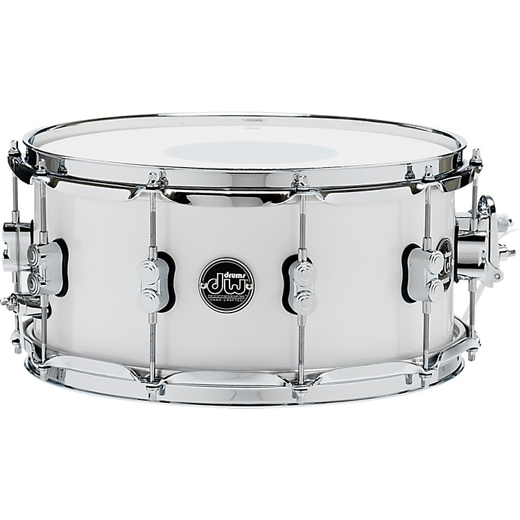DWPerformance Series Snare Drum14 x 6.5 in.White Ice