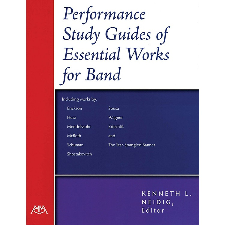 Meredith MusicPerformance-Study Guides of Essential Works for Band Concert Band