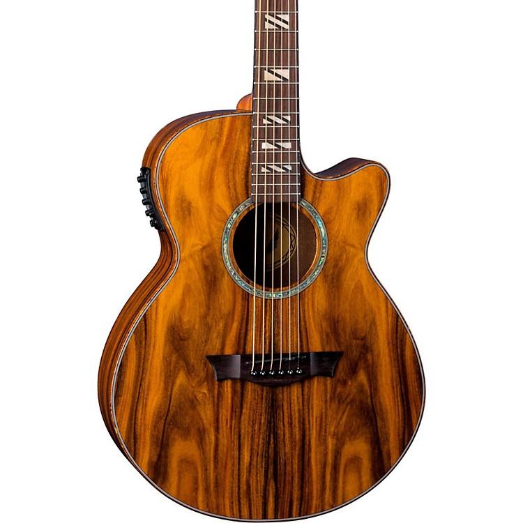 dean performer cocobolo acoustic electric guitar music123. Black Bedroom Furniture Sets. Home Design Ideas