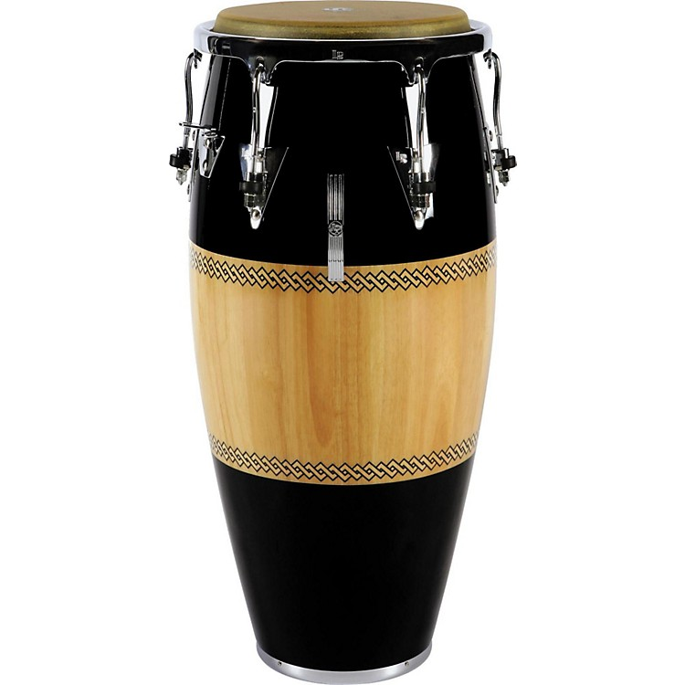 LPPerformer Series Conga with Chrome Hardware11 in. QuintoBlack/Natural