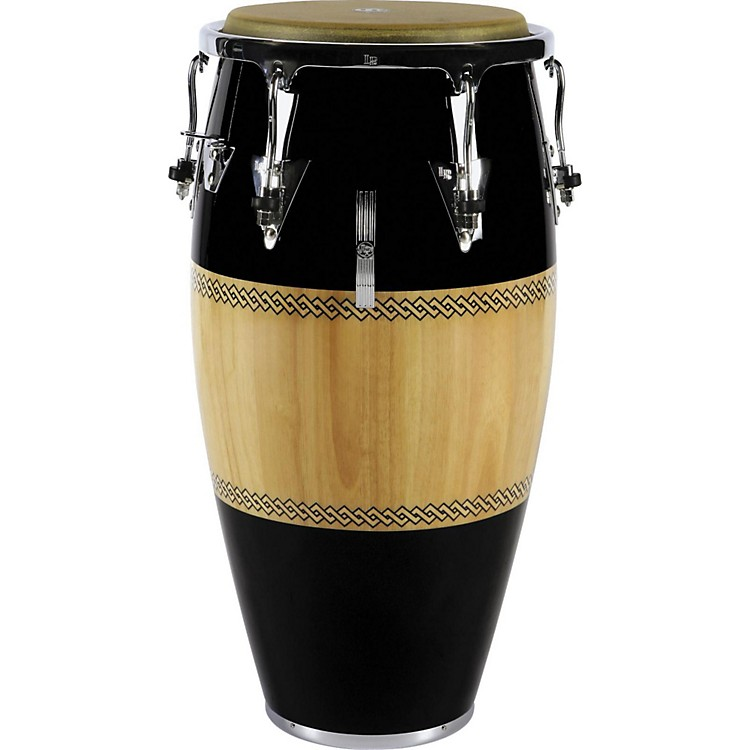 LPPerformer Series Conga with Chrome Hardware11.75 in.Black/Natural
