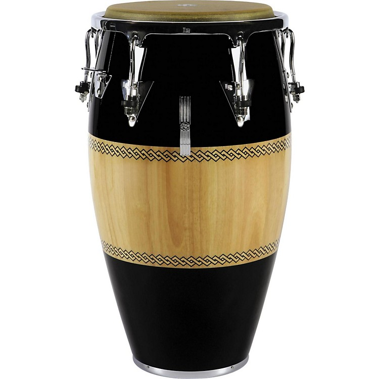 LPPerformer Series Conga with Chrome Hardware12.5 in. TumbaBlack/Natural