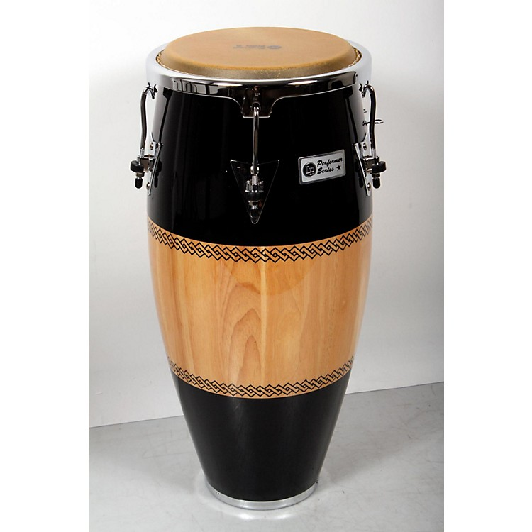 LPPerformer Series Conga with Chrome Hardware11 in. Quinto, Black/Natural888365847184