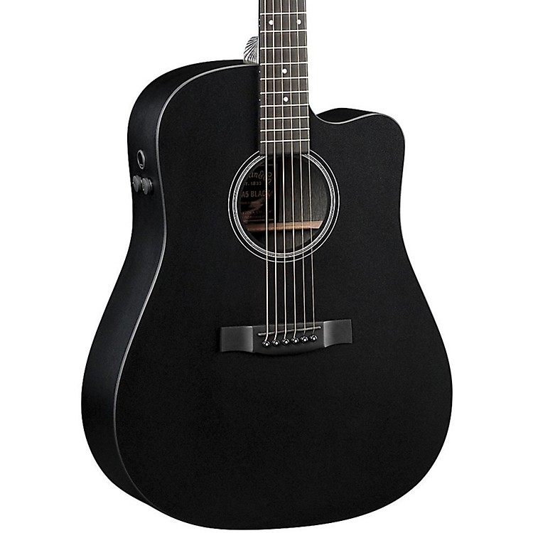 Martin Performing Artist Series 2016 DCPA5 Black Dreadnought Acoustic-Electric Guitar Black