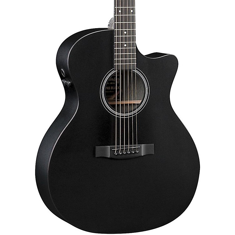 Martin Performing Artist Series GPCPA5 Black Grand Performance Acoustic-Electric Guitar Black