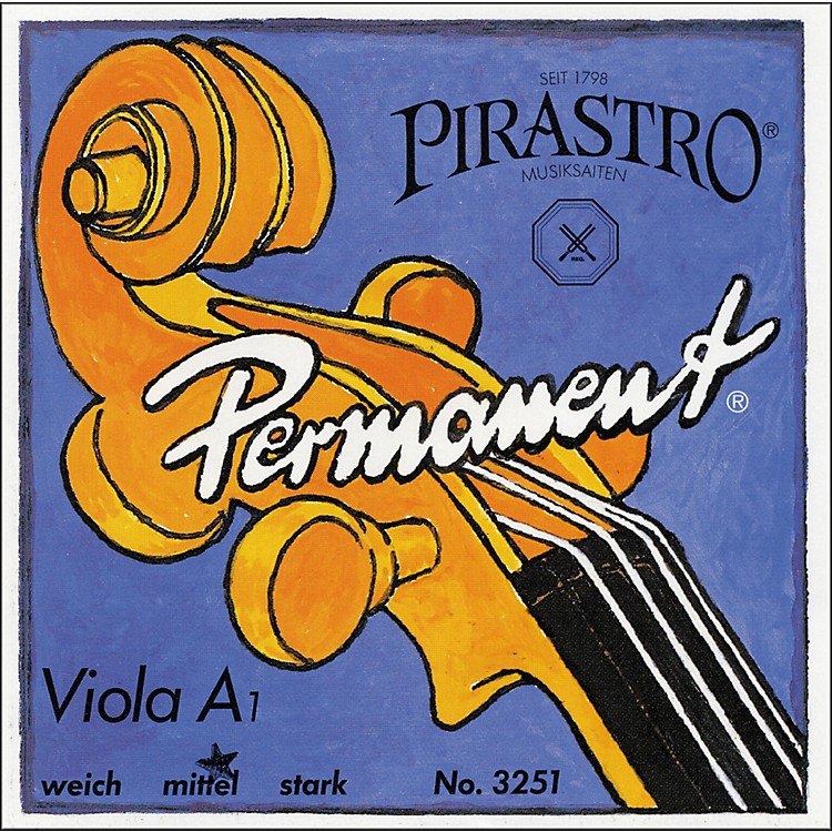 Pirastro Permanent Series Viola A String 16.5 Stark