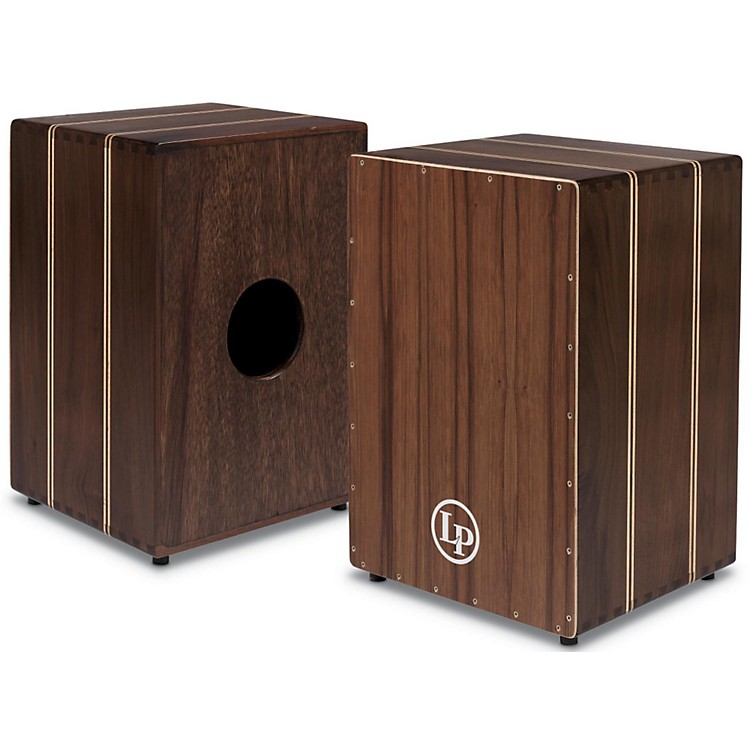 LP Peruvian Solid Walnut String Cajon