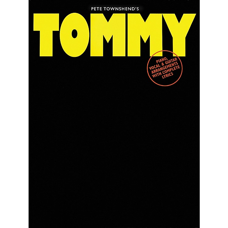 Hal LeonardPete Townshend's Tommy Piano, Vocal, Guitar Songbook