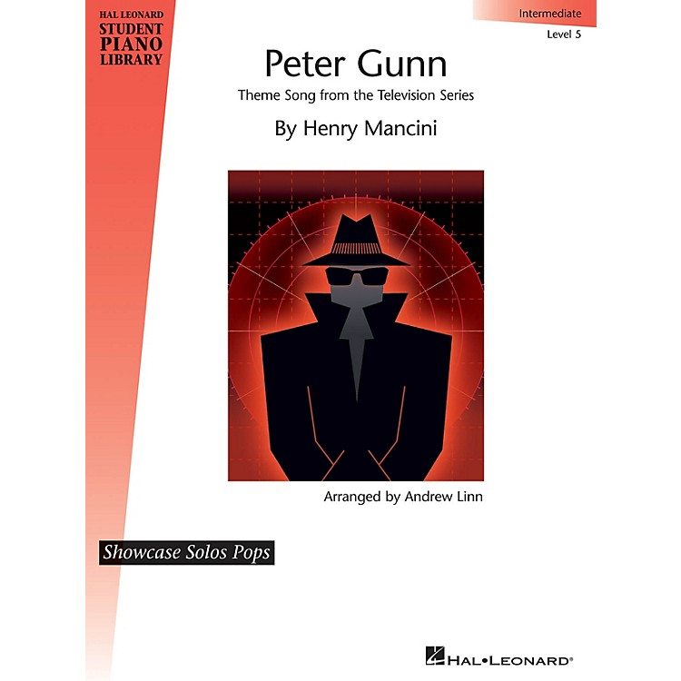 Hal LeonardPeter Gunn (Theme Song from the Television Series) Piano Library Series (Level Late Inter/Level 5)
