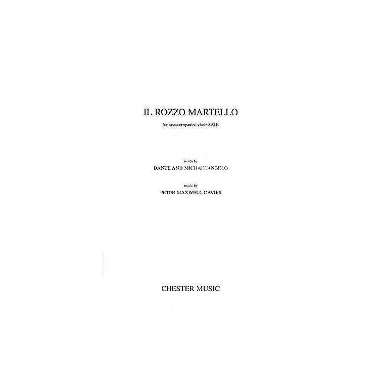 Music SalesPeter Maxwell Davies: Il Rozzo Martello SATB