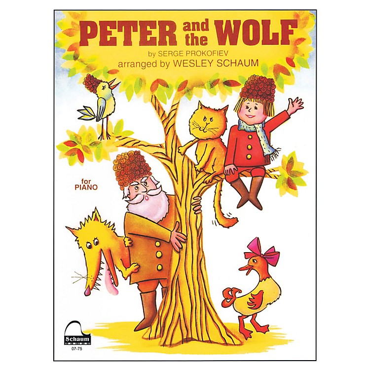 SCHAUMPeter and the Wolf Educational Piano Series Softcover