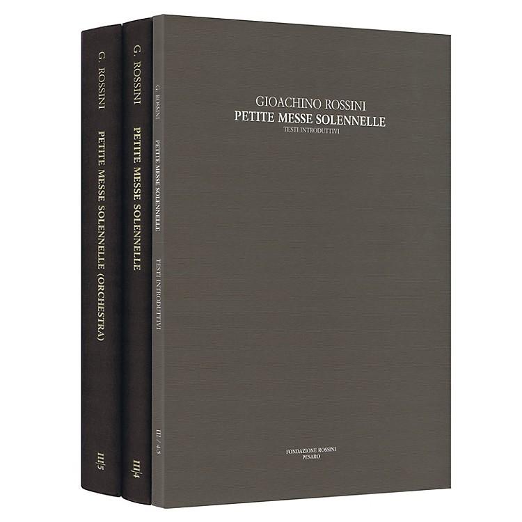 RicordiPetite Messe Solennelle Rossini Critical Edition Series III, Vols. 4-5 Hardcover by Gioachino Rossini