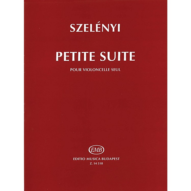 Editio Musica BudapestPetite Suite (for Solo Violoncello) EMB Series Written by István Szelényi