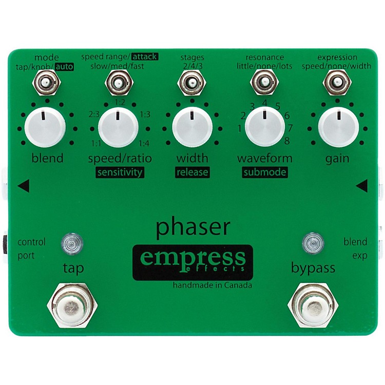 Empress EffectsPhaser Guitar Effects Pedal