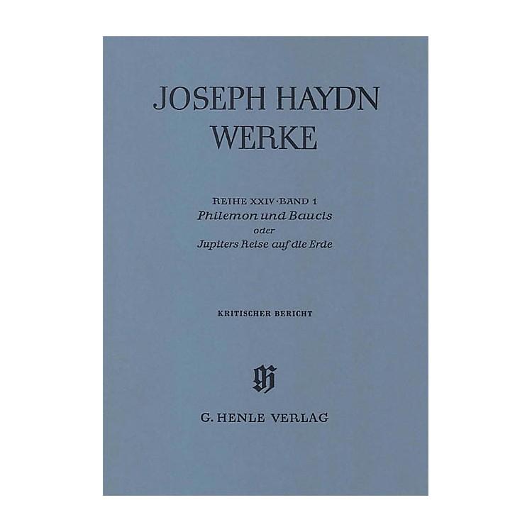 G. Henle VerlagPhilemon and Baucis - A German Marionette Opera Henle Edition Series Hardcover