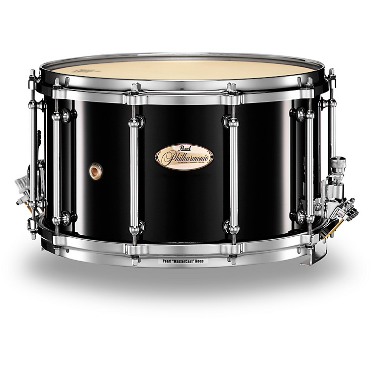 Pearl Philharmonic 6-Ply Maple Snare Drum High Gloss Piano Black 14x5