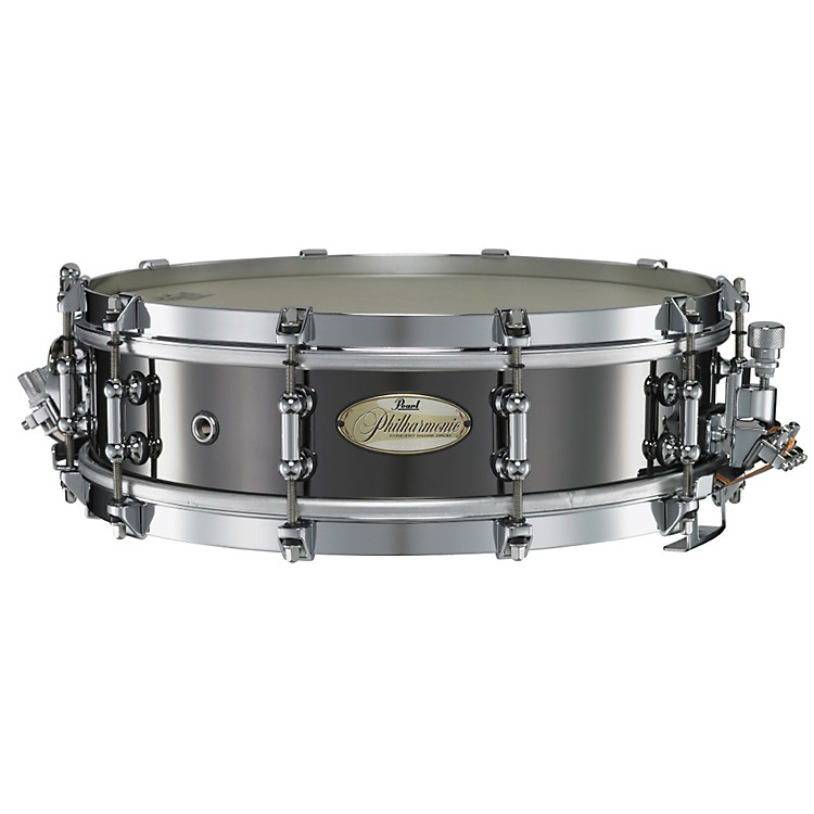 PearlPhilharmonic Brass Snare DrumBlack Nickel14x4