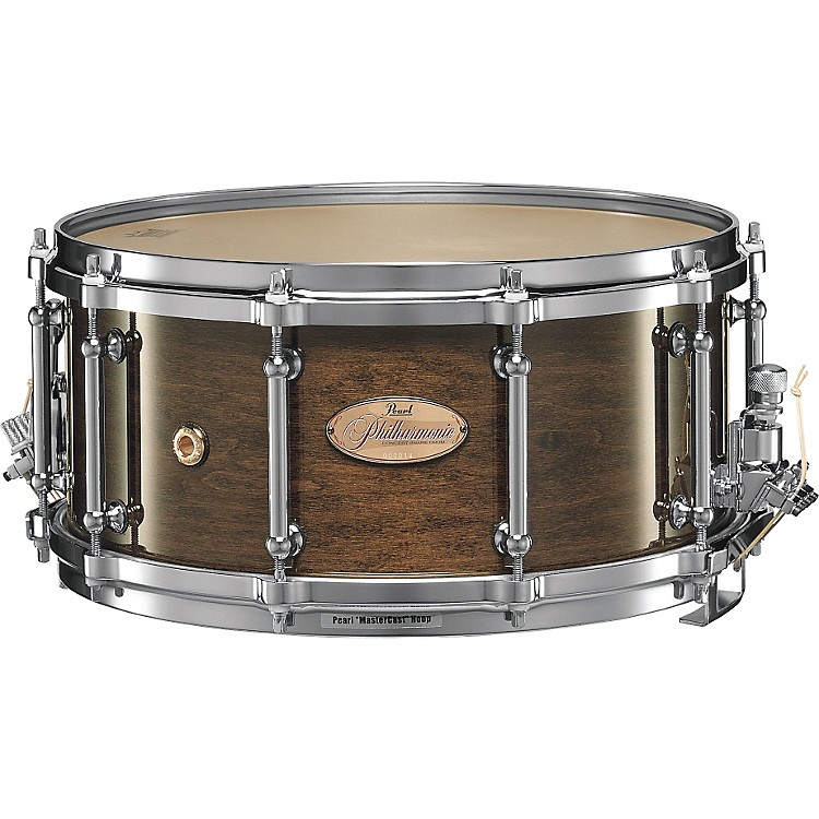 Pearl Philharmonic Snare Drum Concert Drums Walnut 14 x 6.5 in.