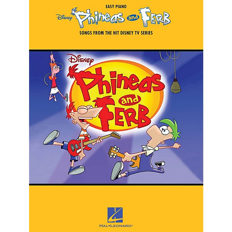 Hal LeonardPhineas And Ferb - Songs From The Hit Disney TV Series For Easy Piano