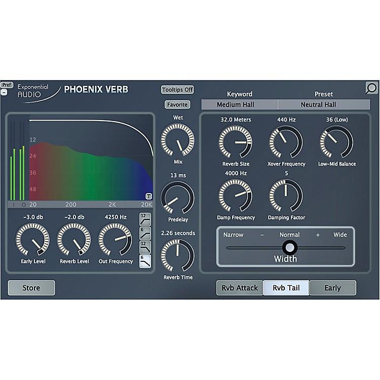 Exponential AudioPhoenixVerb