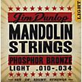 DunlopPhospher Bronze 8-String Mandolin Set Light-thumbnail