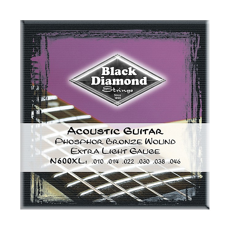 Black Diamond Phosphor Bronze Acoustic Guitar Strings