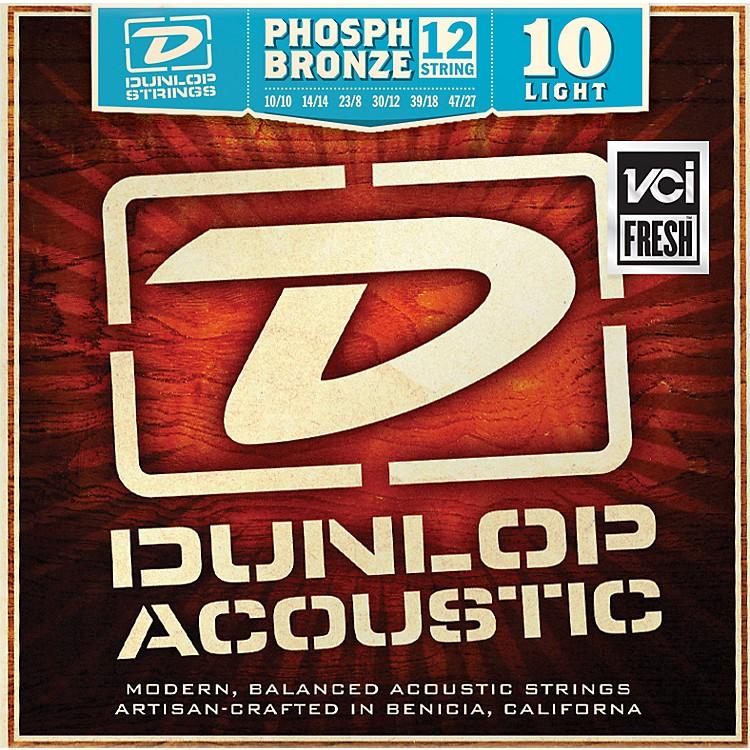 DunlopPhosphor Bronze Light 12-String Acoustic Guitar String Set