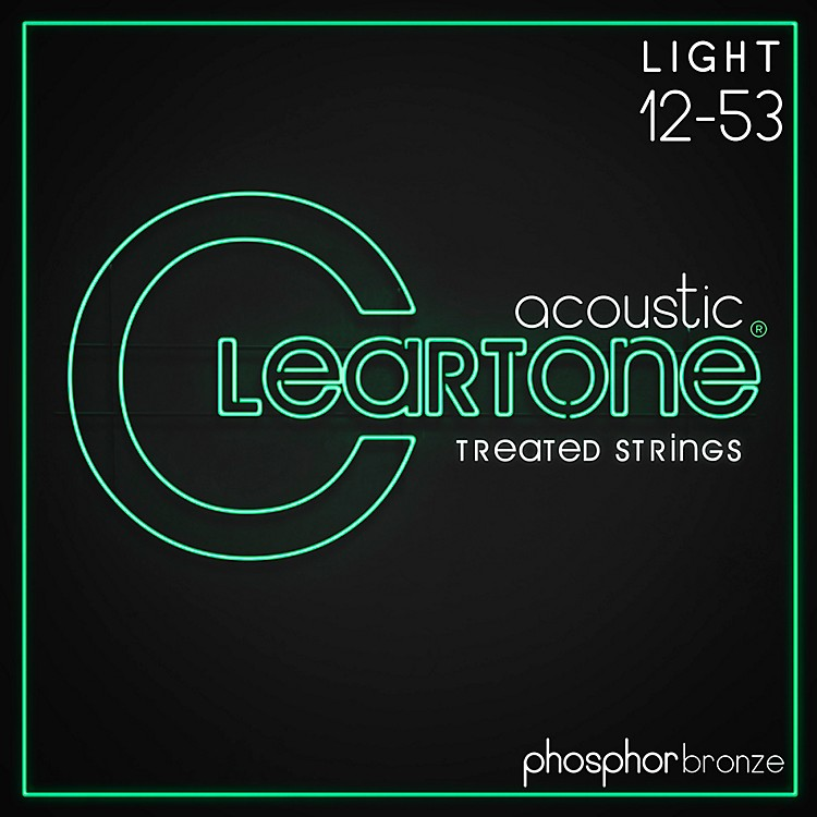 Cleartone Phosphor-Bronze Light Acoustic Guitar Strings