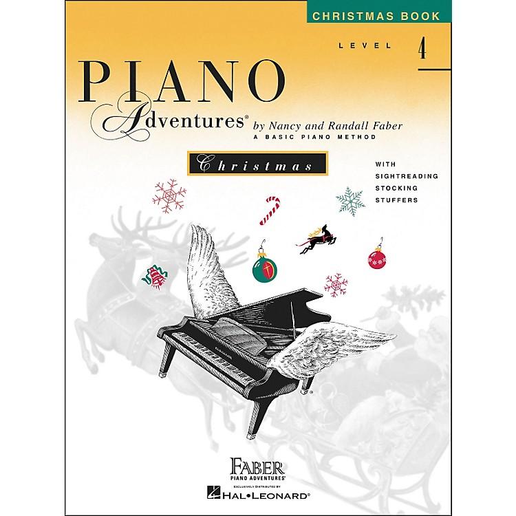 Faber Piano AdventuresPiano Adventures Christmas Book Level 4 - Faber Piano