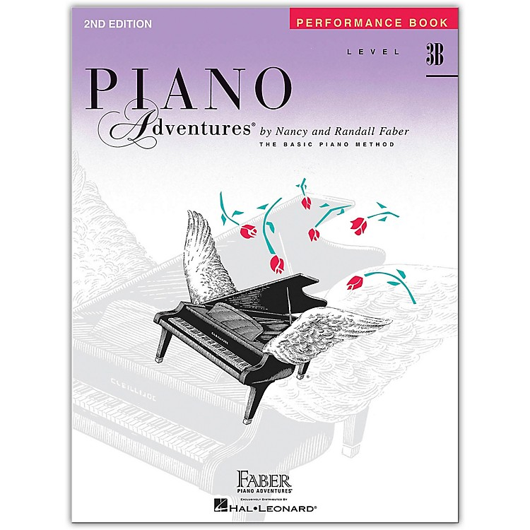 Faber Piano AdventuresPiano Adventures Performance Book Level 3B 2nd Edition