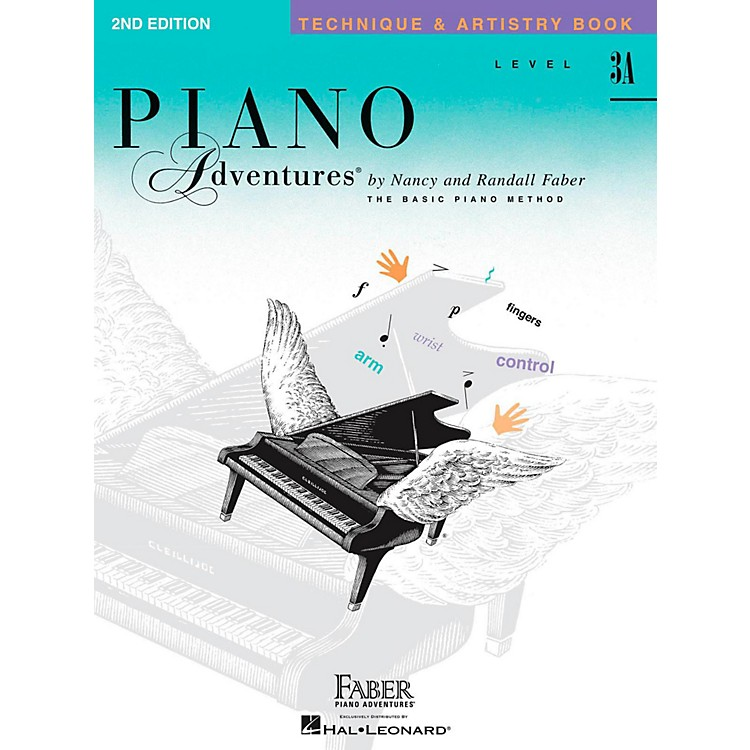 Faber Piano AdventuresPiano Adventures Techniques And Artistry Book Level 3A