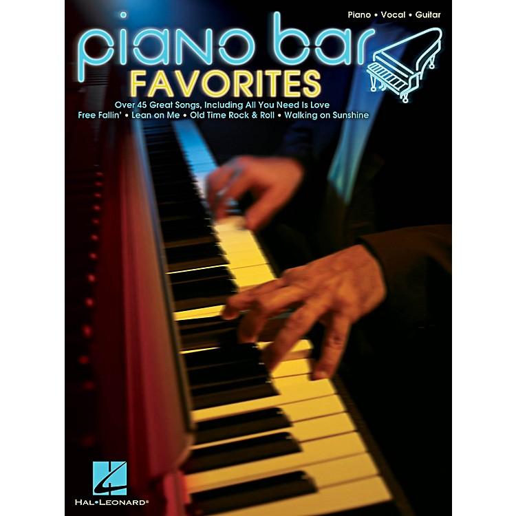 Hal LeonardPiano Bar Favorites Piano/Vocal/Guitar Songbook