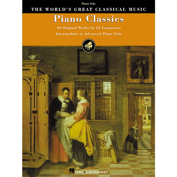 Hal Leonard Piano Classics (40 Original Works by 22 Composers) World's Greatest Classical Music Series (Advanced)